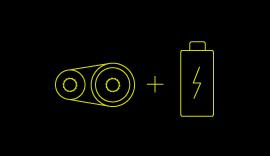 Mild Hybrid Electric Vehicles symbol.