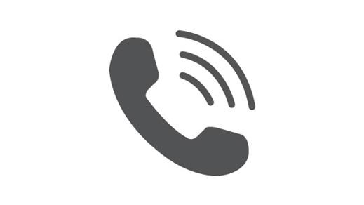 Phone call symbol.