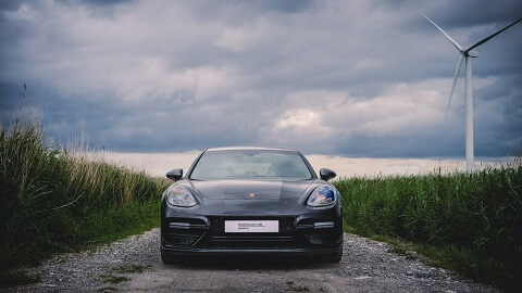 Porsche Panamera Grey