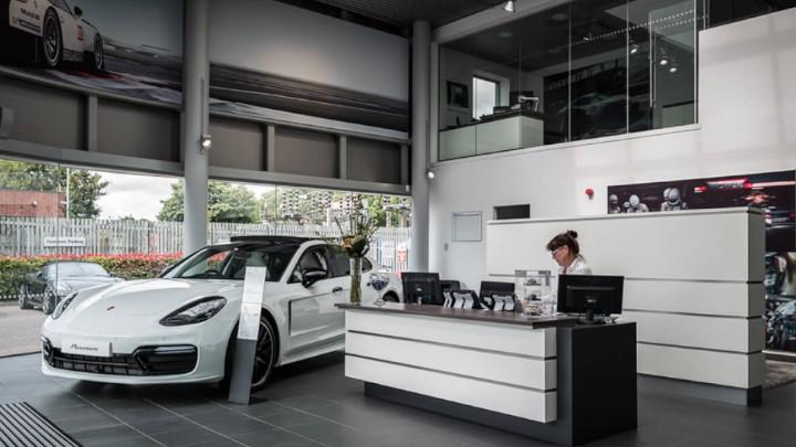Porsche Service Reception