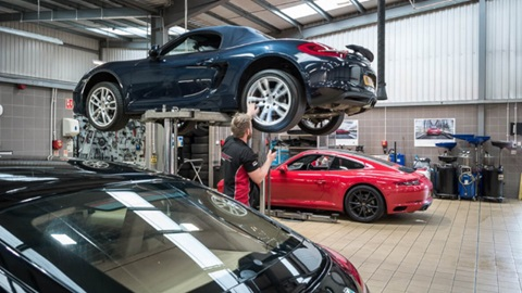 Porsche Workshop
