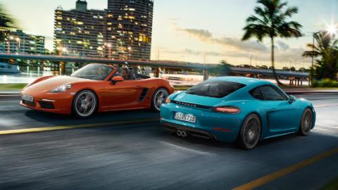 Porsche 71 Range, Driving