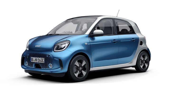 New smart eq forfour passion advanced
