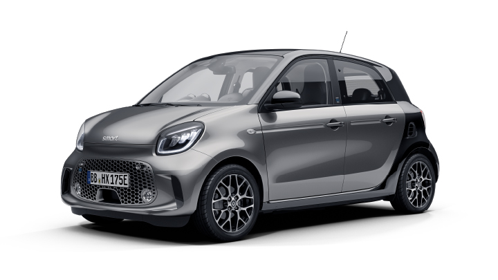 new smart eq forfour prime exclusive