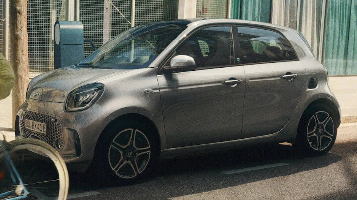 smart EQ forfour Exterior Side