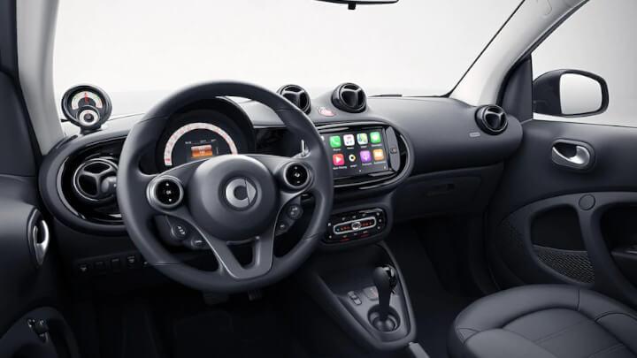 smart EQ forfour Interior