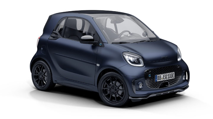 smart fortwo edition bluedawn