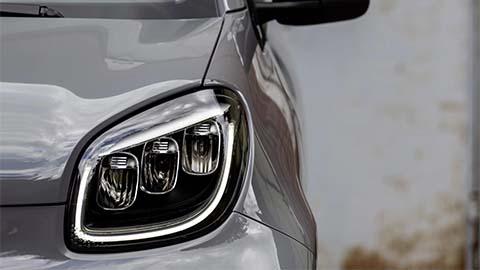 smart car headlight