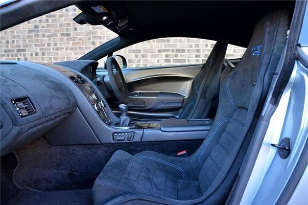 aston martin vantage gt8 interior