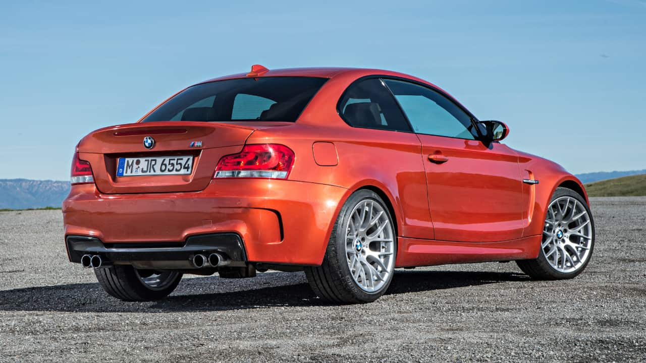 BMW 1M Rear