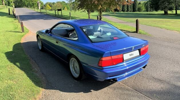 bmw 8 series e31 coupe rear