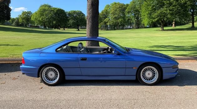 bmw 8 series e31 coupe side