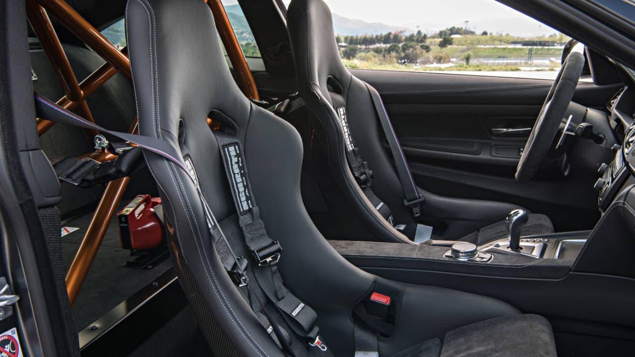 M4 GTS Interior