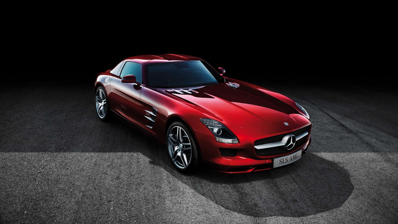 Mercedes-AMG SLS Red Large