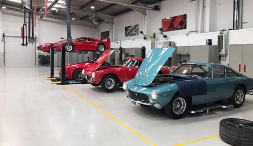 unique Ferrari models