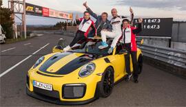 top 5 porsche cars in nurburgring