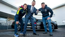 bmw partners with rugby league