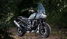 New Harley Davidson.