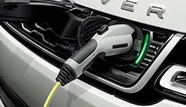 Range Rover Sport Hybrid charging.