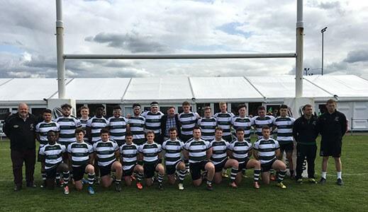 Nottingham rugby team.