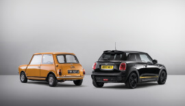 Limited Edition MINI 1499 GT in black and yellow.