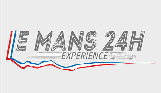 E Mans 24h Experience sign.