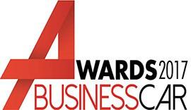 Business Car Awards 2017 sign.