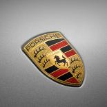 Porsche badge.