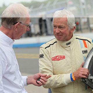Gary Pearson Q&A at Le Mans Classic.