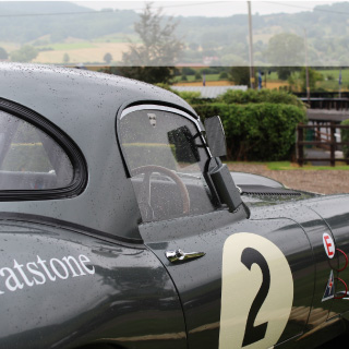 Jaguar Lightweight E-Type at Shelsley Walsh Championship Challenge.