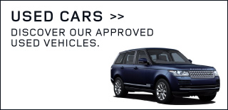 Blue Range Rover.