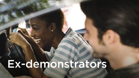 Ex-Demonstrator Cars
